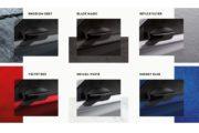 ボディカラーは全6色。どの色を選んでもエクストラコストが掛かりません
