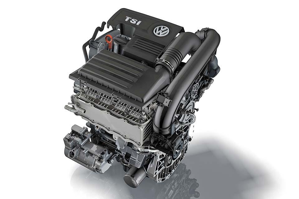 フォルクスワーゲン キャディ 1.4L TSIエンジン