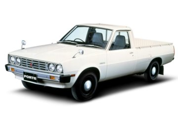三菱 L200の初代モデル(写真は日本仕様のフォルテ:1978年)