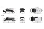 ルノー トラフィック 2.0 dCi120 スポーツ パネルバン