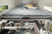 2階のベッドは厚みが増したより快適なものになります