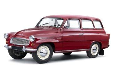 初代モデルからワゴンモデルを設定(1959年)