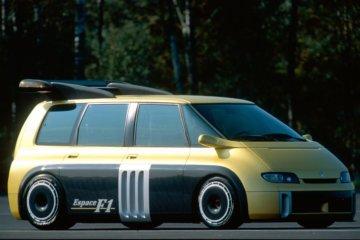 ルノーF1ユニットを搭載したエスパス F1(1995年)
