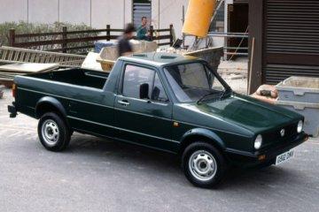 初代モデルはゴルフベースのピックアップトラック