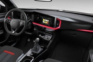 Opel Visionコンセプトを適用したモッカのインテリア